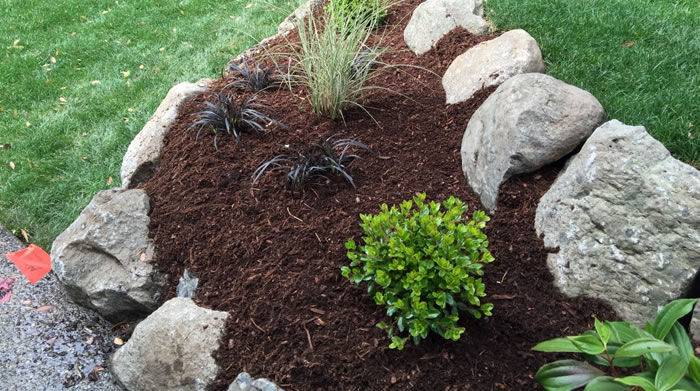 Mulch Delivery and Spreading